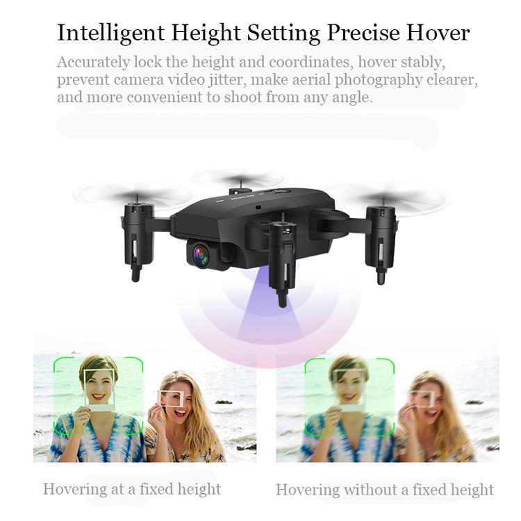 H19 Mini 2.4G WIFI FPV With 4K HD Camera Altitude Hold Headless Mode RC Drone Quadcopter RTF - Photo: 6