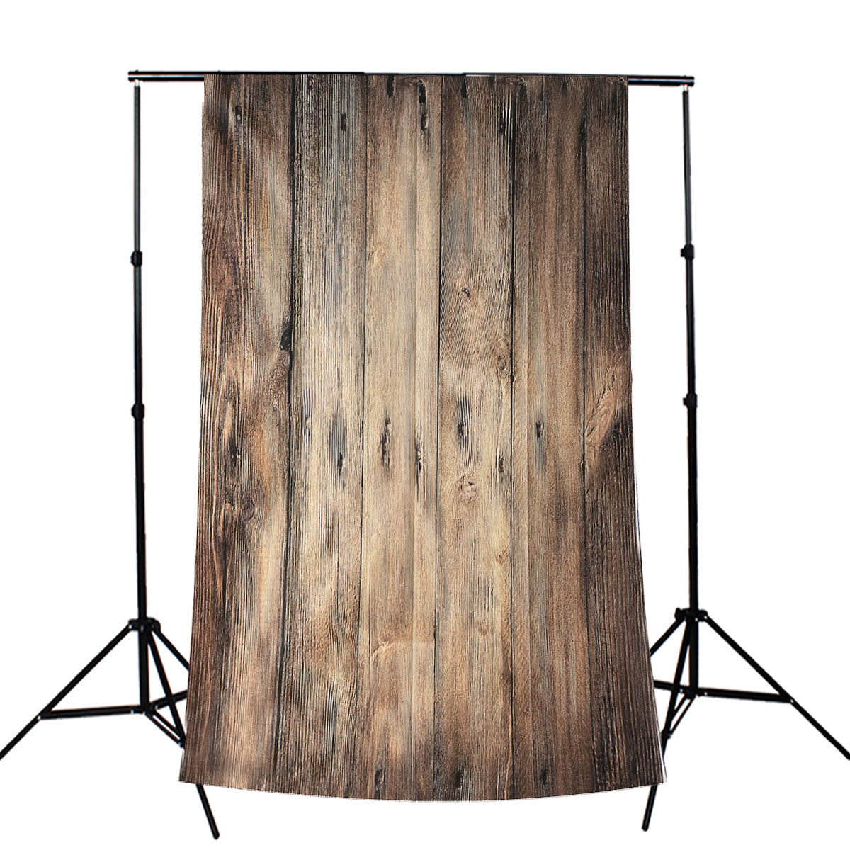 3x5FT Retro Vinyl Photography Backdrop Photo Wooden Floor Studio Prop Background