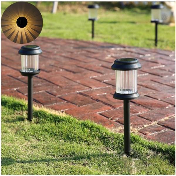 Warm White Light Waterproof LED Solar Lights Lawn Lamp