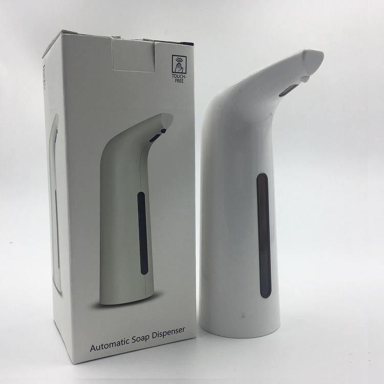 HONANA 400ML Automatic Soap Dispenser Hand Free Touchless Sanitizer Bathroom Dispenser Smart Sensor Liquid Soap Dispenser For Bathroom