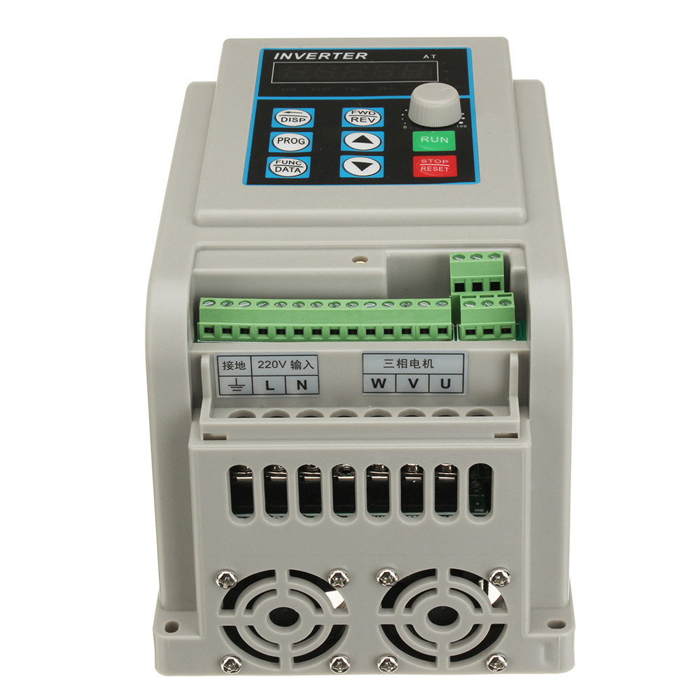 4KW 220V 12A Single Phase Variable Frequency Inverter Controller Converter