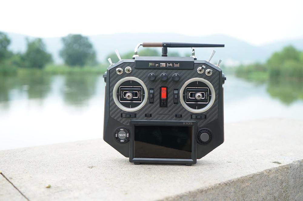 FrSky Horus X10S 16 Channels RC Drone Transmitter Mode 2 MC12plus Gimbal Carbon Fiber Panel