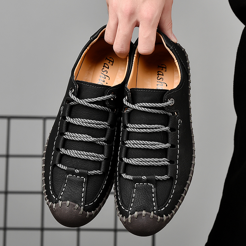 Menico Hand Stitching Comfortable Loafers