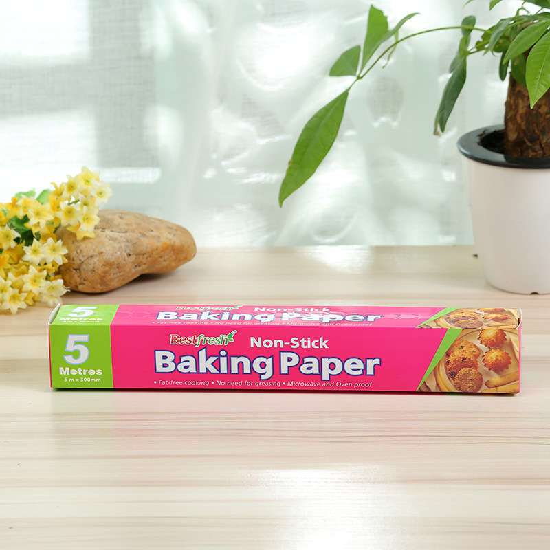 Kitchen Baking Oil Paper Food Grade Non-stick Silicone Coated Paper Oven Oilcloth Baking Mat Pad Parchment Paper