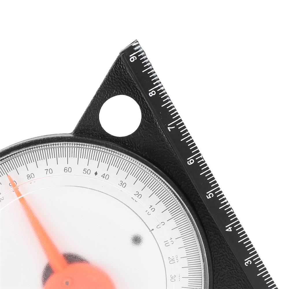 Drillpro Slope Inclinometer Protractor Tilt Level Meter Angle Finder Clinometer Gauge Measurement