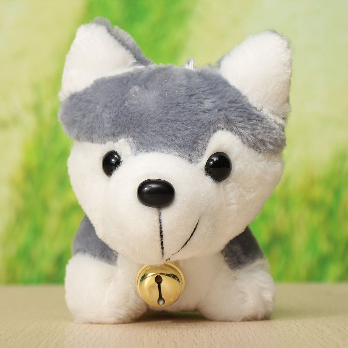 26cm 10.24'' Husky Dog Cartoon Doll Stuffed Plush Kids Children Toy Gift House Decor