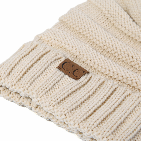 Women Men Warm Soft Knitted Hat Autumn Winter Warm Outdoor Solid Skullies Beanies Cap