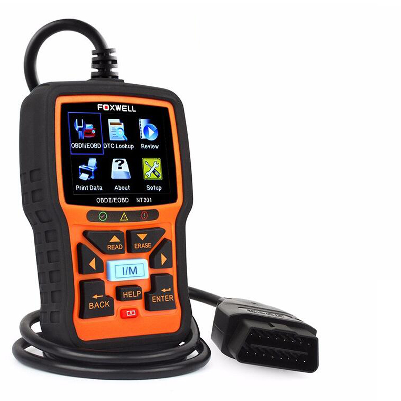FOXWELL NT301 OBD OBD2 Engine Multi-languages Universal Car Diagnostic Scanner (Eachine1) Worcester Buy Sell