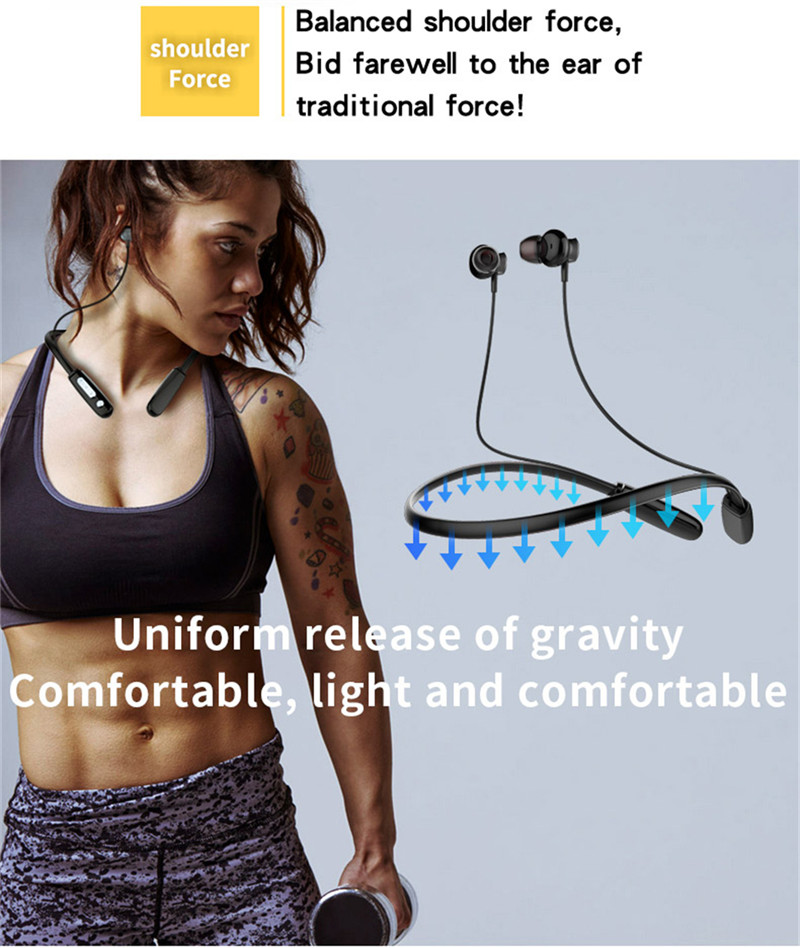 J18 Sport Magnetic Adsorption Light-weight bluetooth Earphone Headphone with Mic for Mobile Phone
