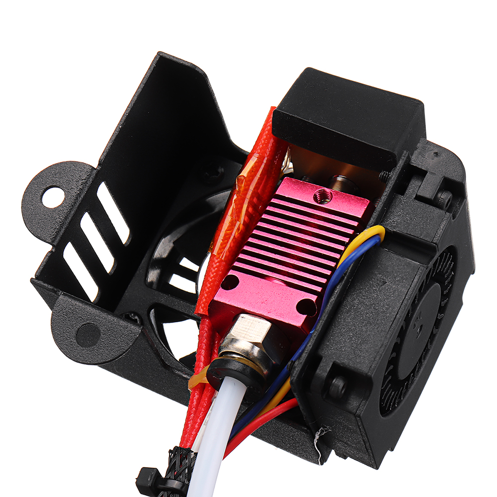 12V Extruder Hot End Kit With 1.75mm/0.4mm Nozzle For Creality 3D CR-10 / 10S / S4 / S5 3D Printer