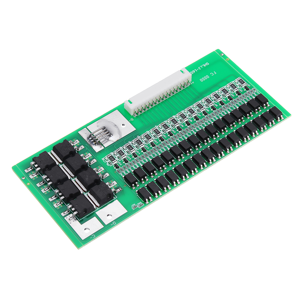 48V 30A 16 Cell LiFePo4 Lithium Iron Battery BMS Balancing Protection Board