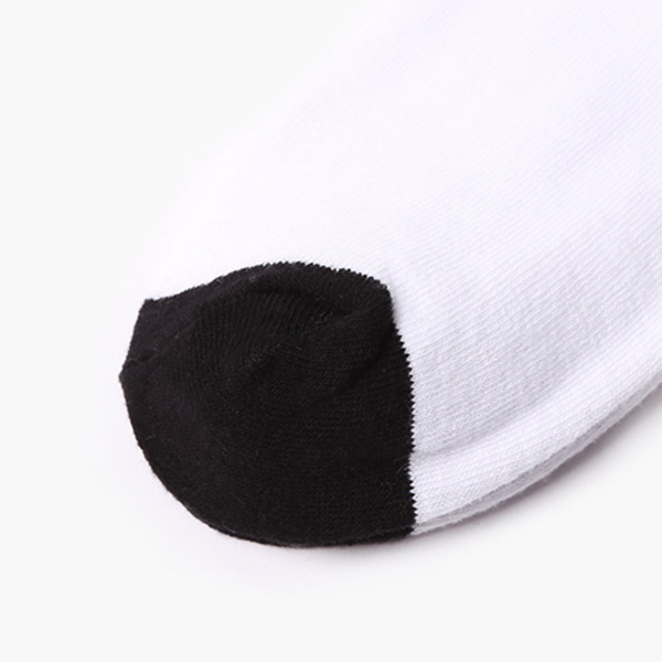 Mens Cotton Letter Boot Socks Sport Tube Socks