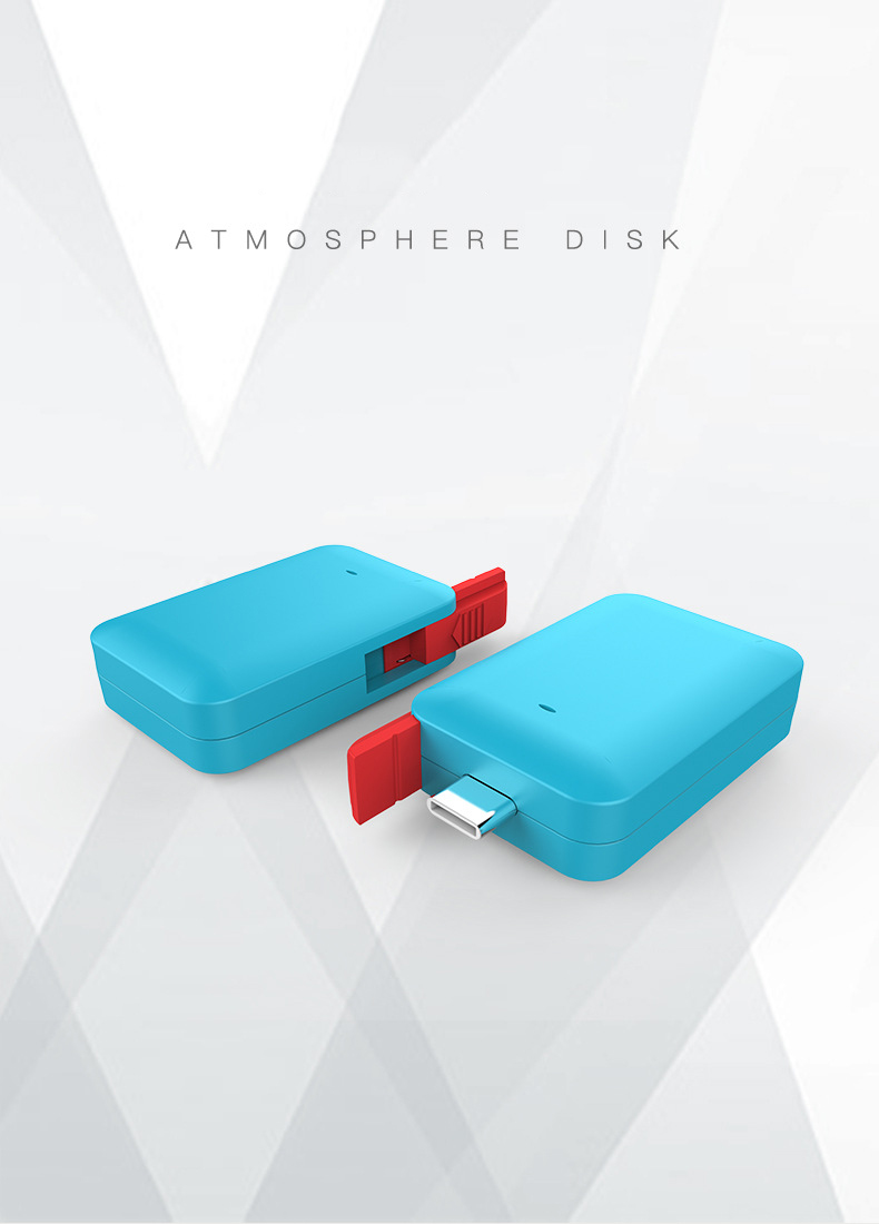 Atmosphere USB Type-C U Disk for Nintendo Switch Pro Game Console Converter Adapter for Sony Ns