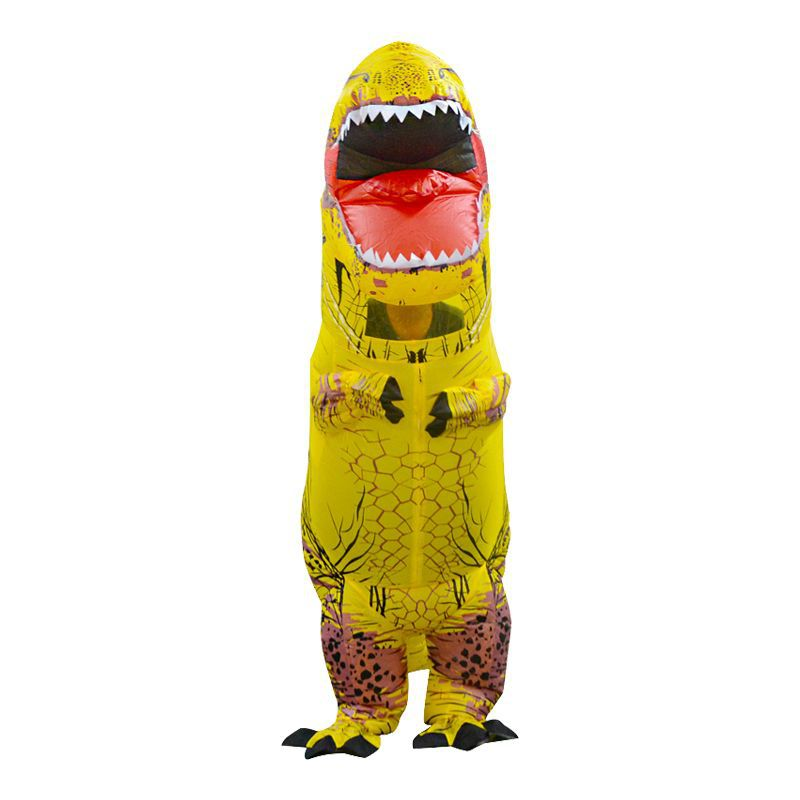 Inflatable Toys Simulation Tyrannosaurus Rex Funny Frightened Inflatable Clothes Dinosaur Clothes