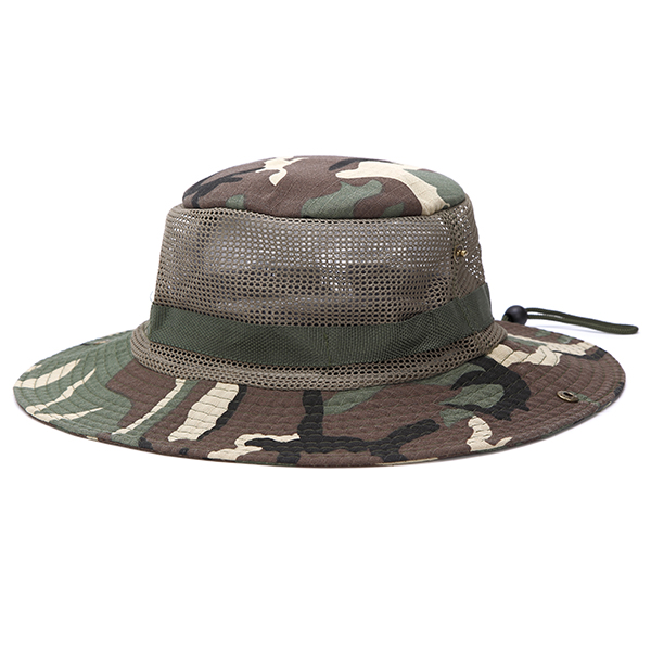Men Summer Breathable Fishing Climbing Sunshade Visor Cap