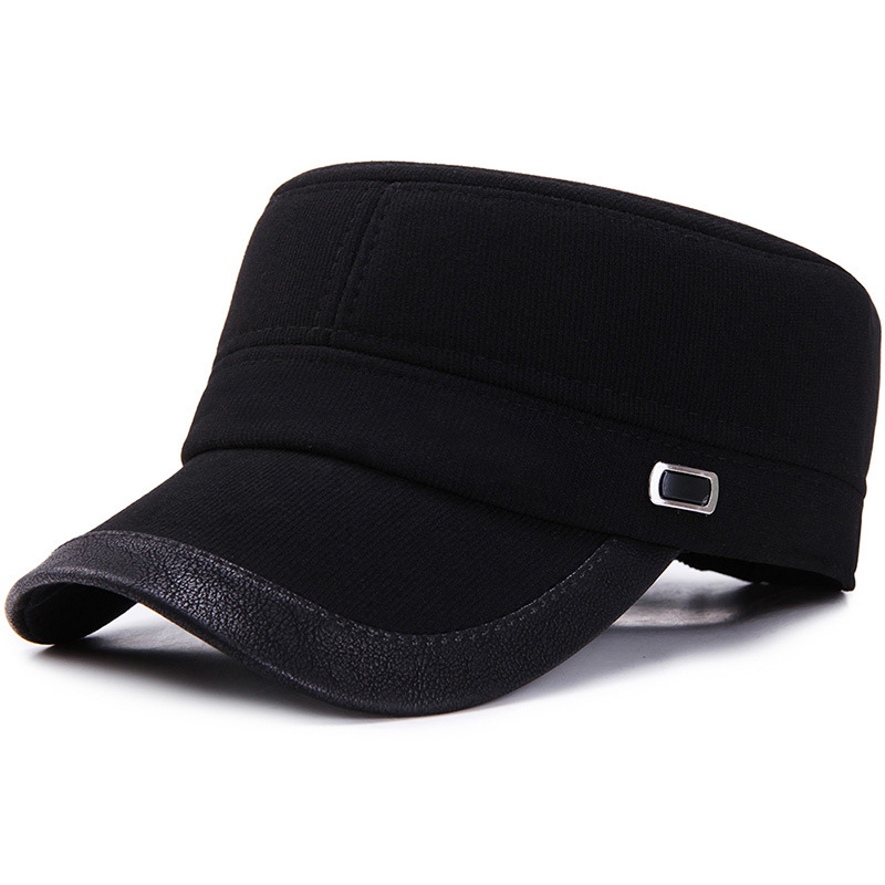 Men Winter Warm Cotton Earmuffs Military Army Cap