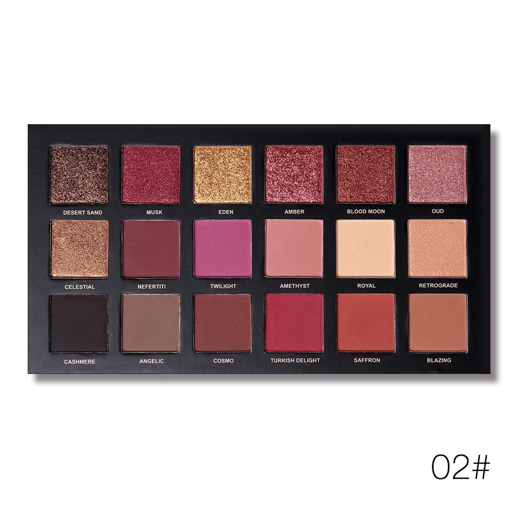 18 Colors Shimmer Matte Eye Shadow Palette