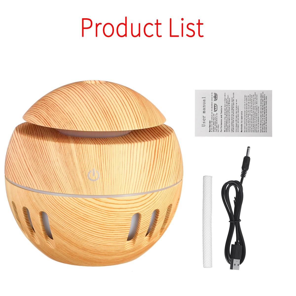 7 Color Essential Oil Diffuser Humidifier Ultrasonic LED USB Aroma Air Purifier