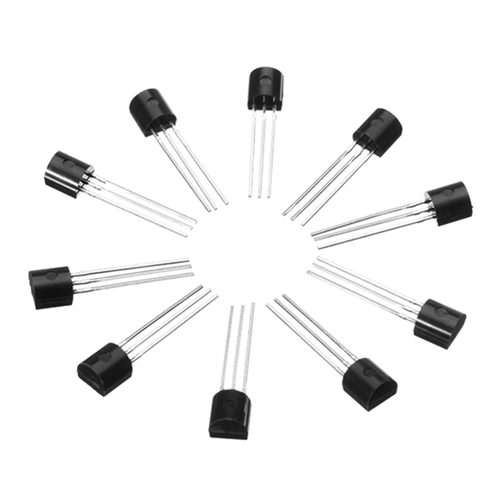 10Pcs TO-92 Triode Transistor BC547 BC557 NPN PBP Low Power Transistors