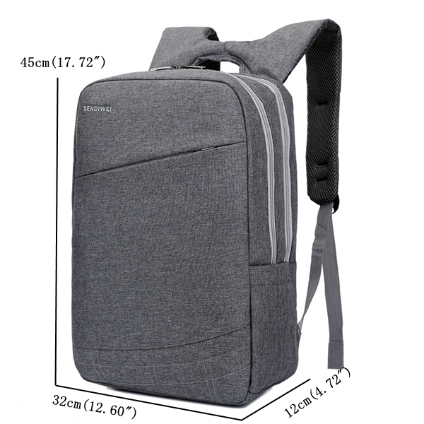 14/15 Inch Laptop Backpack Computer Backpack Casual Dual Compartment Daypack