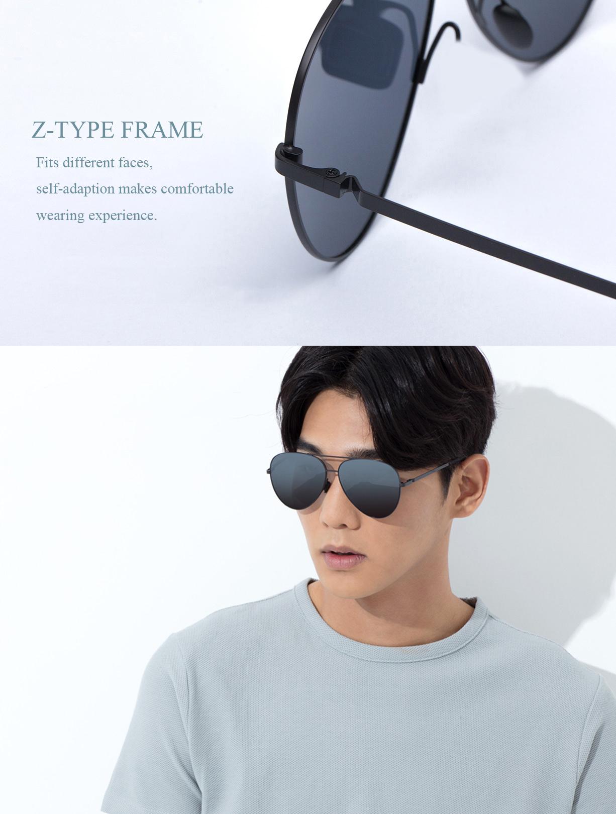 Xiaomi Sunglasses UV400 TS Polarized Lens 6 Layer Polarizing Film Glasses