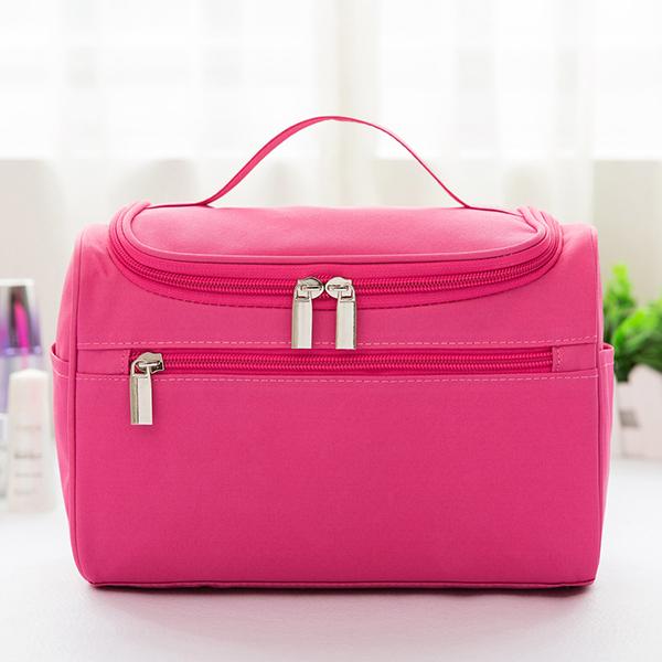 Women Oxford Large Capacity Storage Bag Cosmetic Bag Travel Bag