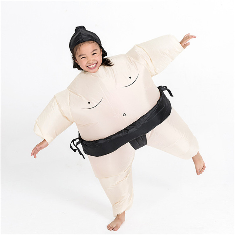 Sumo Inflatable Costume Carnival Party Fancy Animal Clothing For Children