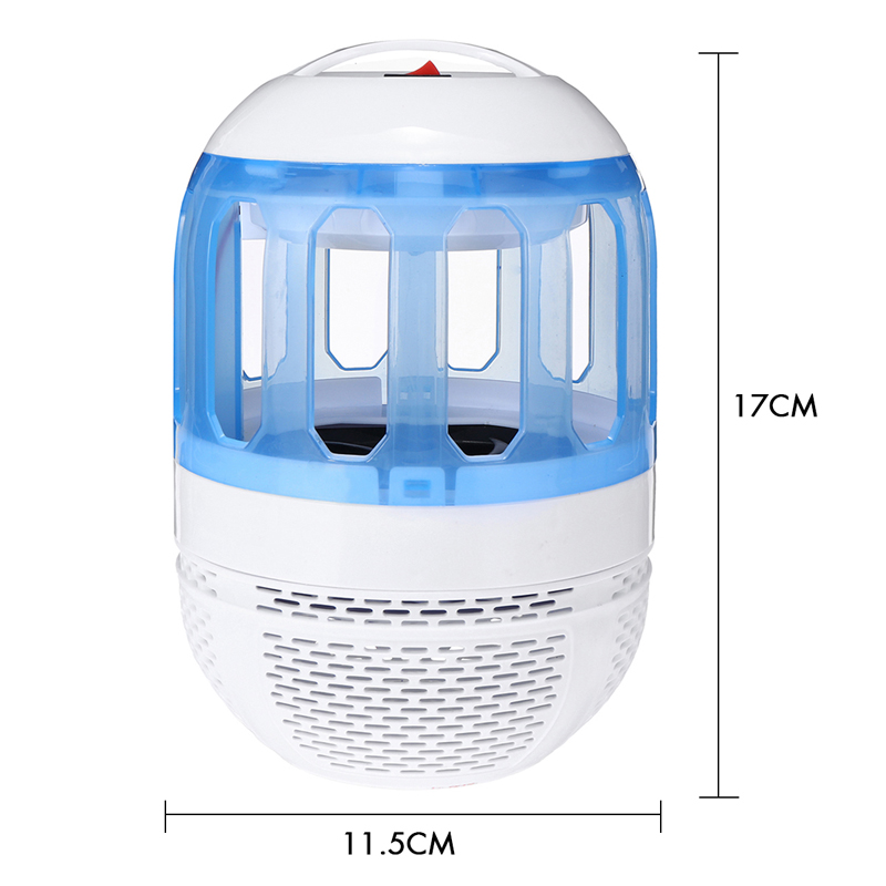 2W Electronic Mosquito Killer Lamp USB Insect Killer Lamp Bulb Pest Trap Light For Camping