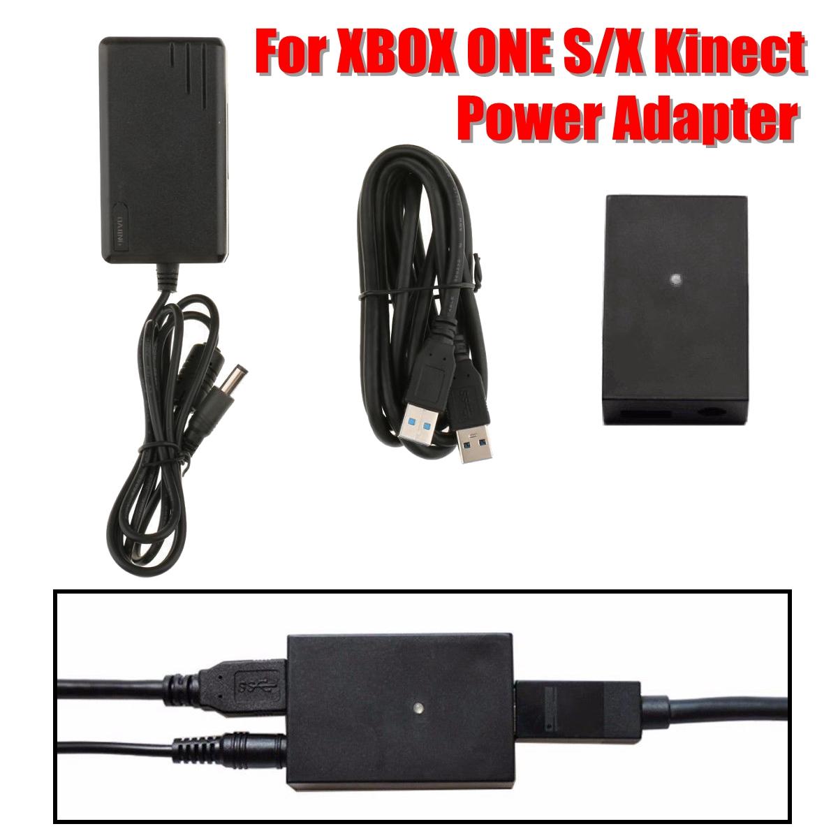 Power 2.0 Power AC Adapter US/EU/AU Plug PC Development Kit For Xbox One S/X Kinect