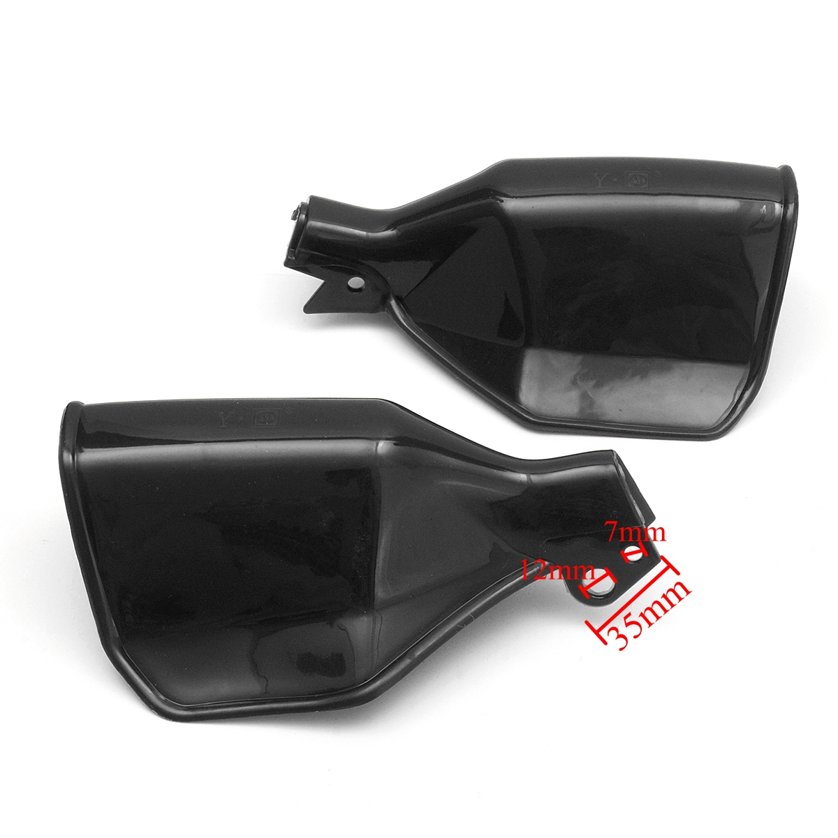Pair Universal Handguard Protector Hand Guard Motorcycle Scooter