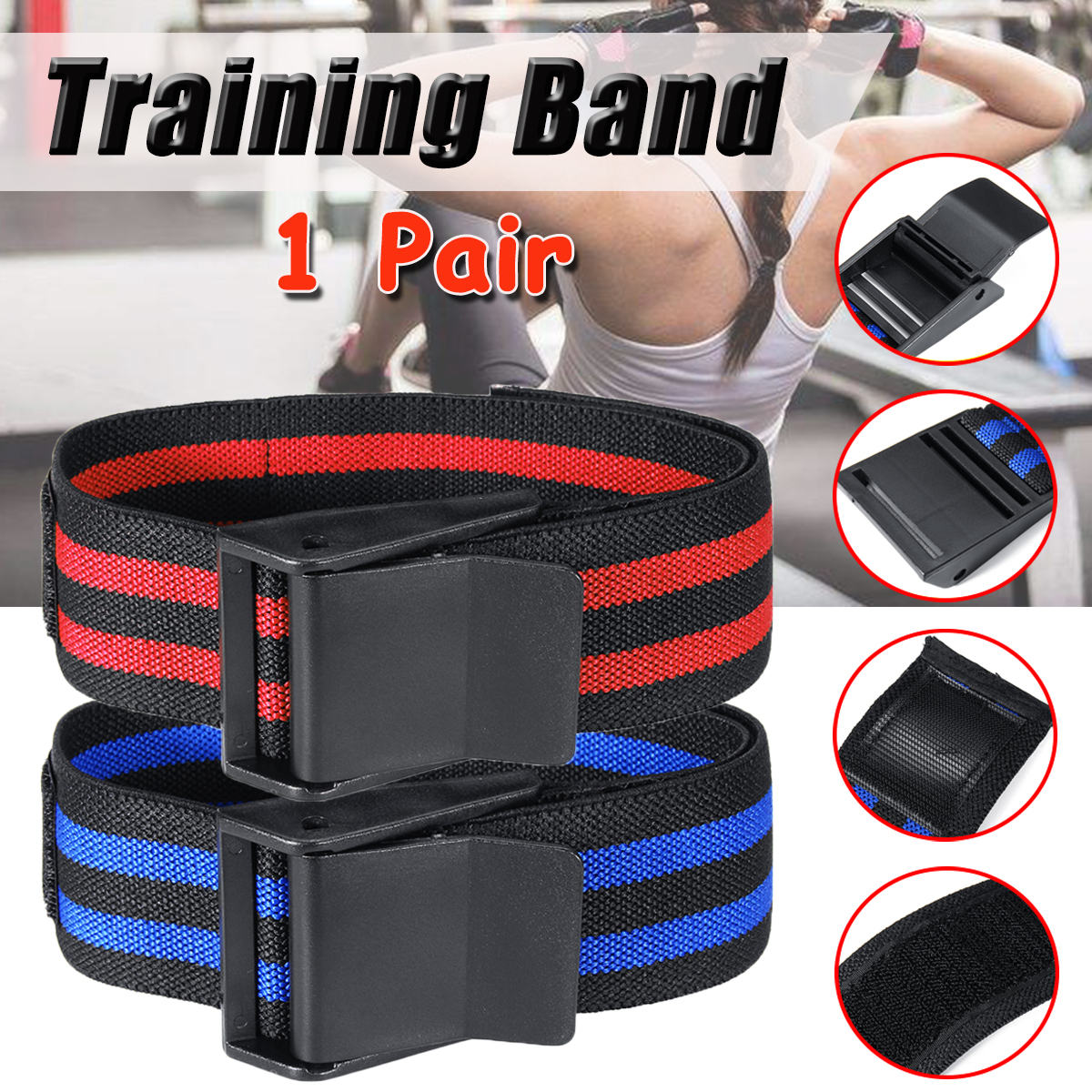 2 Pcs Bands Occlusion Training Bands Restriction Bands