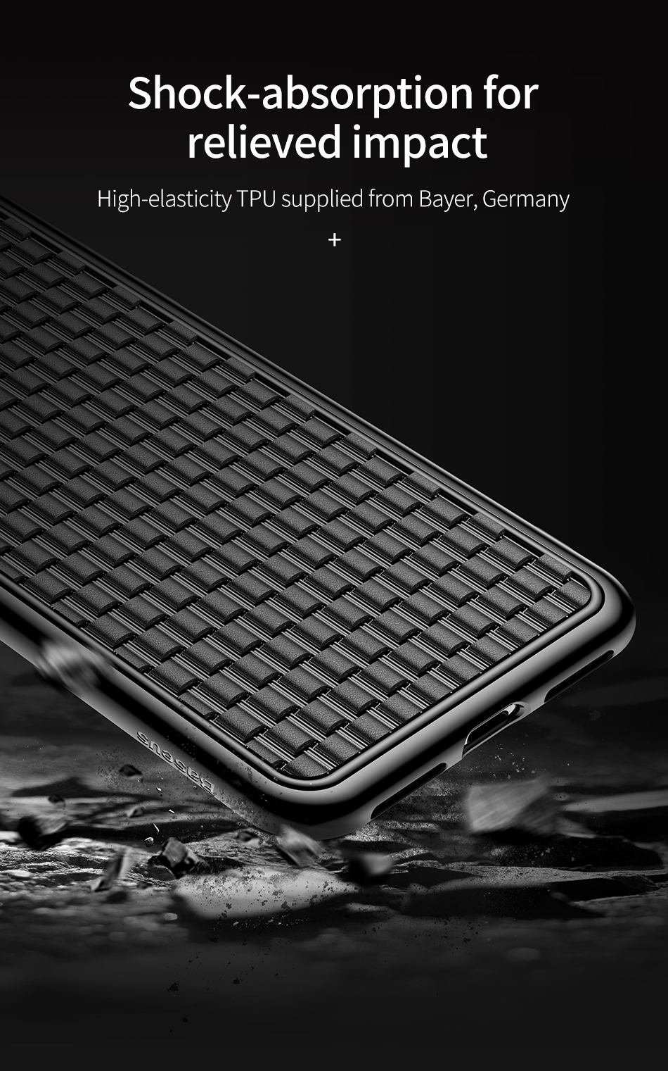 Baseus Protective Case For iPhone XR Heat Dissipation Soft TPU Back Cover