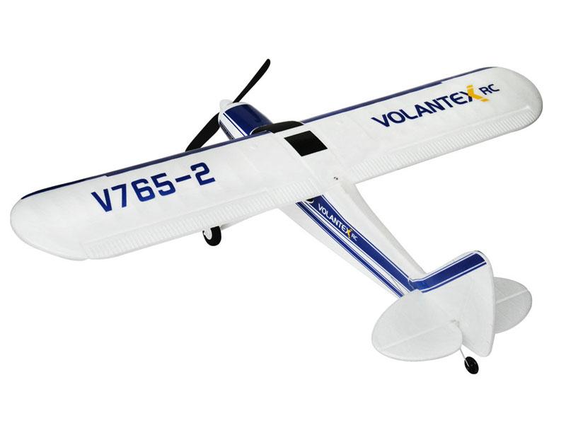 Volantex 2.4G 4CH V765-2 765-2 Super Cub 750mm Sport Park Flyer RTF