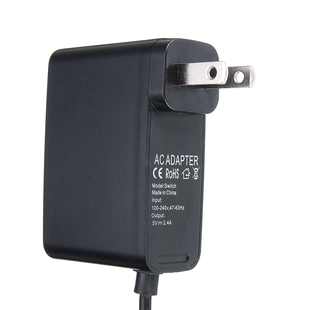 US/EU Power Charger Transformer Adapter Charging cable for Nintendo Switch Host
