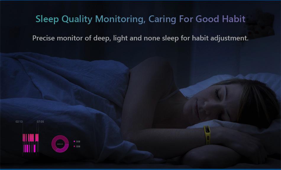 Huawei Honor Band 4 Running Version Shoe-Buckle Land Impact Sleep Snap Monitor Long Standby Smart Watch Band