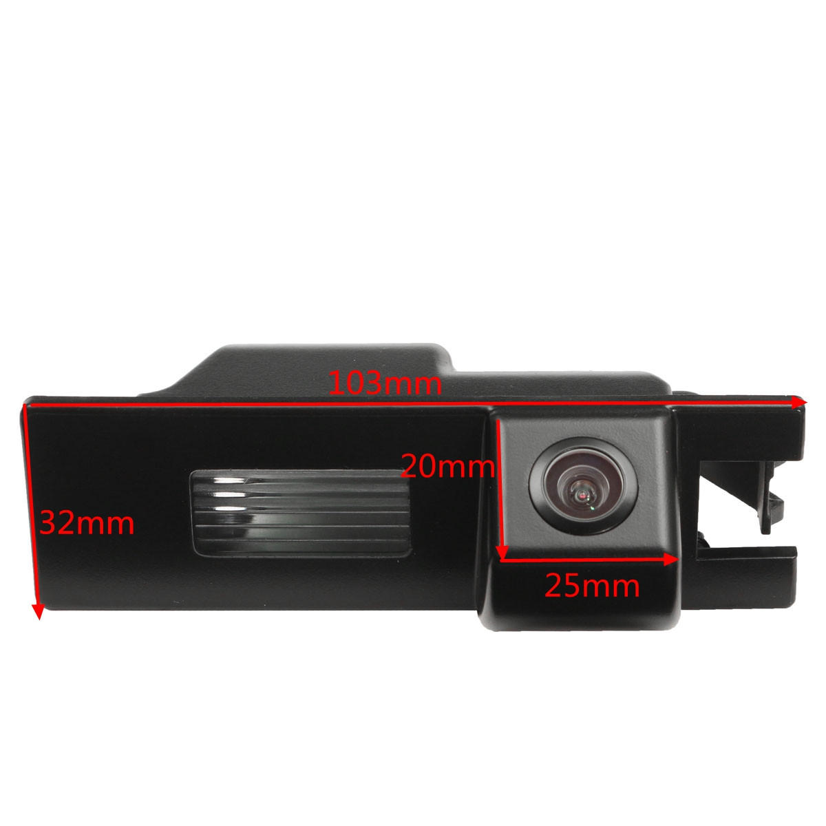 4.3 Inch TFT LCD Color Monitor CCD Reverse HD Digital Car Rear View Camera For Vauxhall Zafira