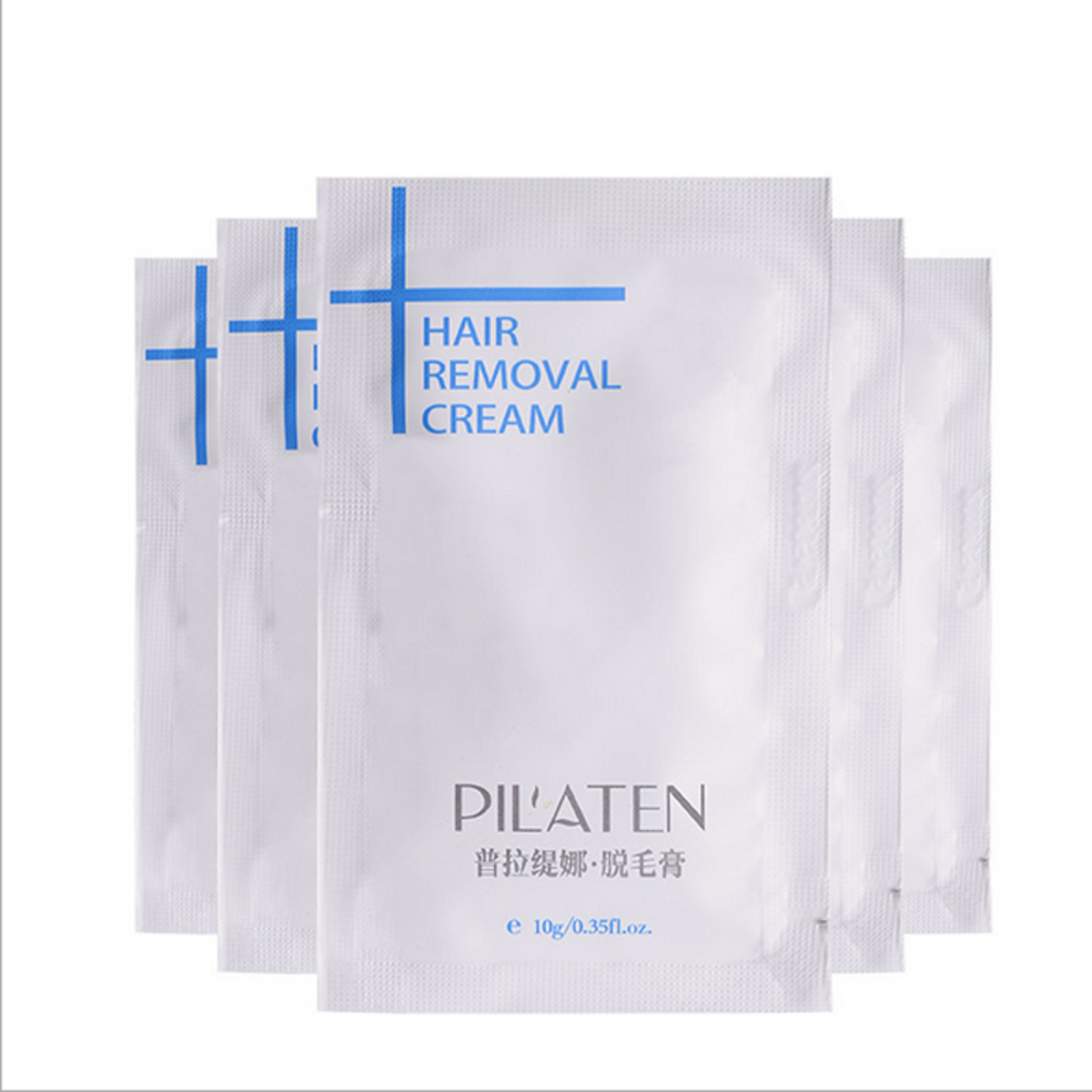 10Pcs PILATEN Men&Women Natural Powerful Depilatory Hair Removal Cream Hair Growth Inhibitor