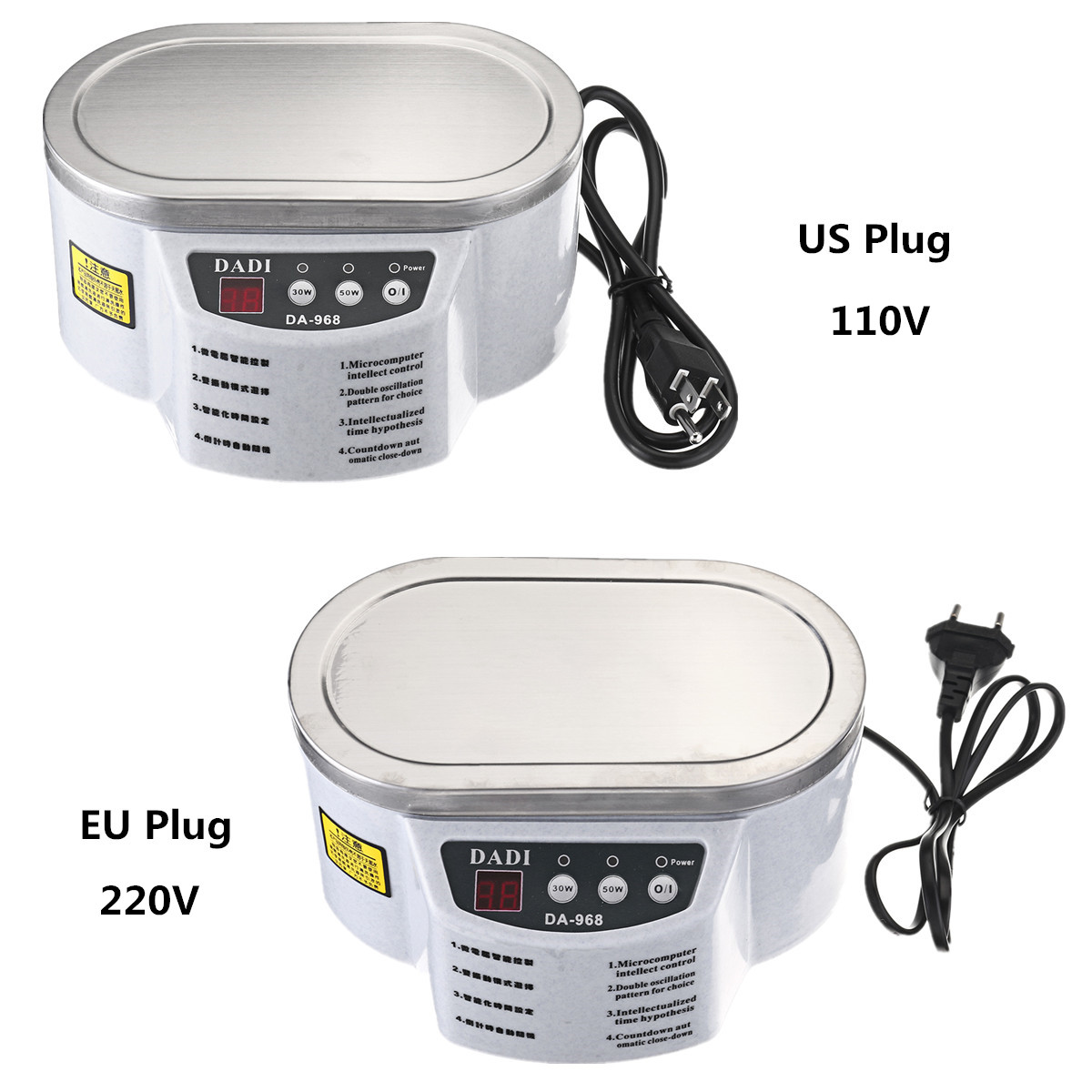 Mini Ultrasonic Cleaner Bath Machine For Cleaning Jewelry Glasses Circuit Board