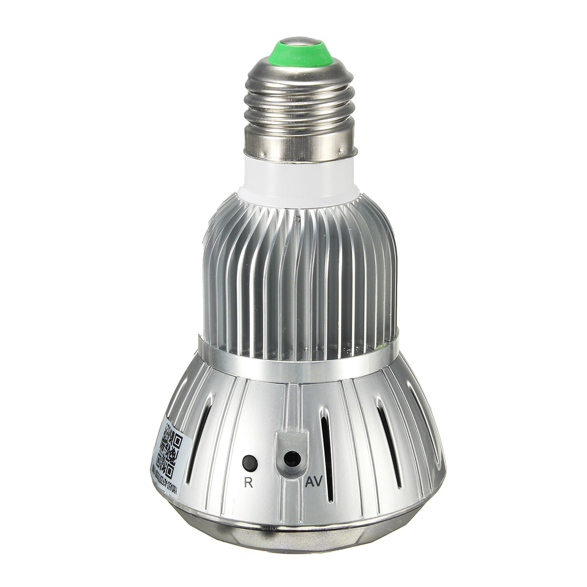 1080P IP Camera HD WIFI H.264 Bulb Type Infrared Night Vision Wireless Monitoring Hidden Bulb Camera