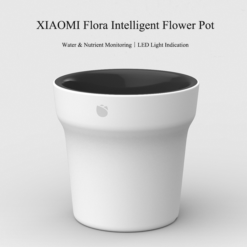 Xiaomi Flora Smart Flower Pot Monitor Digital Plants Grass Soil Water Light Tester Sensor
