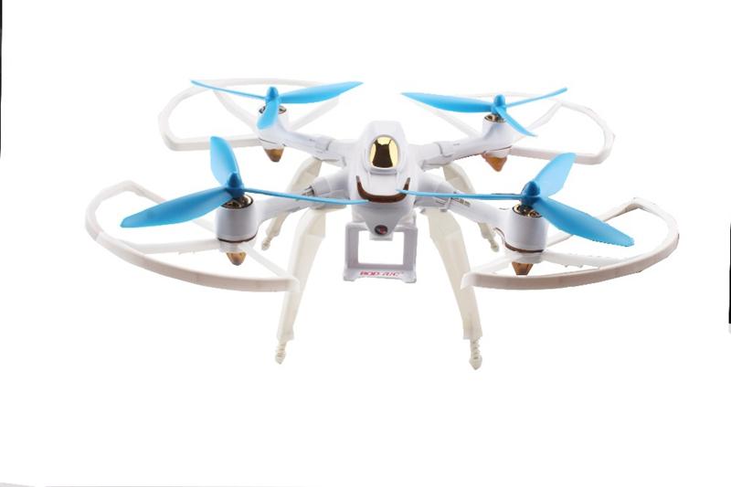 Upgraded Spring Landing Gear Skid Camera Mount Bracket Blade Props Guard for Hubsan H501S X4 Drone