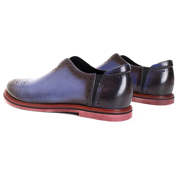 US Size6.5-11 Men Casual Soft Sole Comfy Brogue Style Genuine Leather Flats Oxfords Shoes
