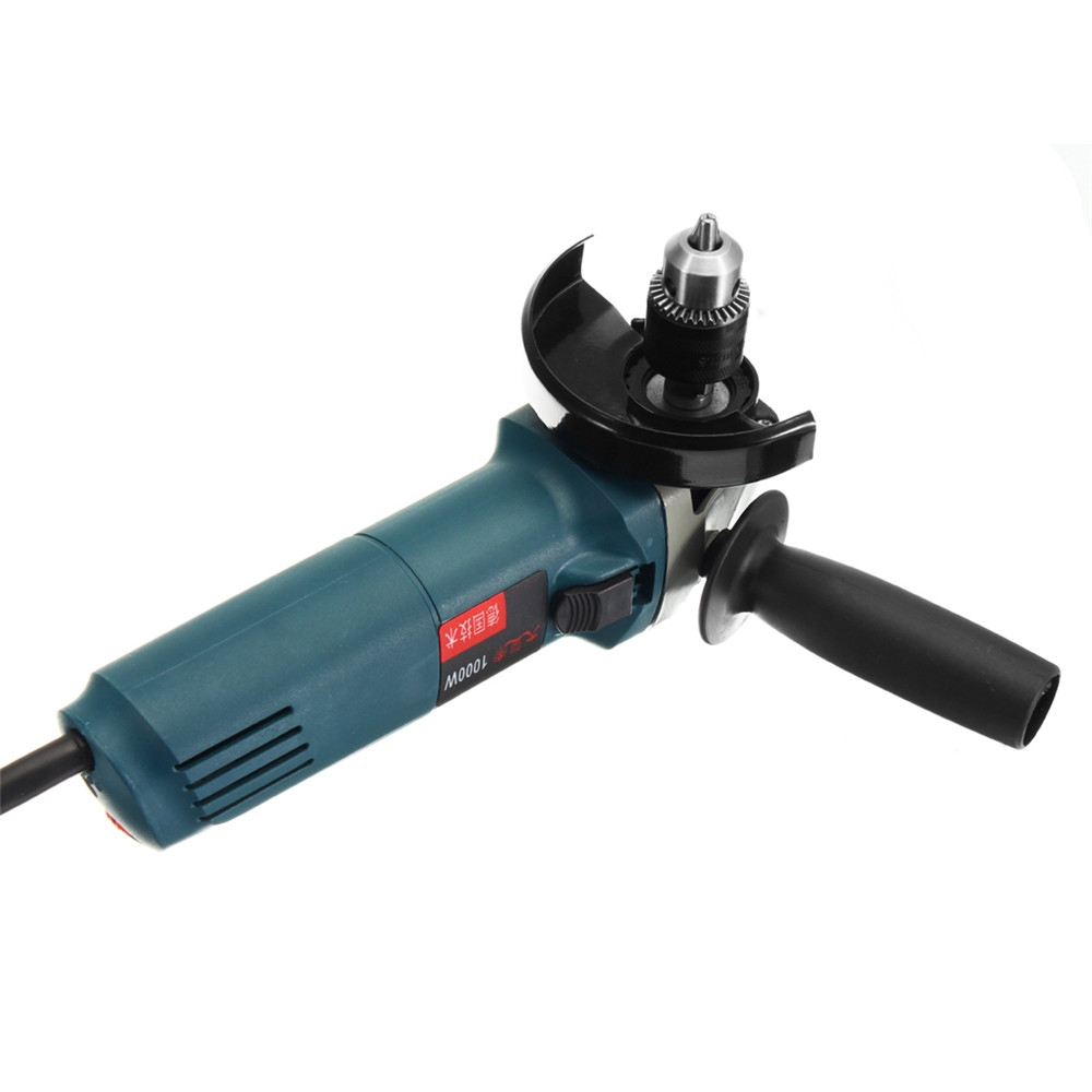 M10 Keyed Drill Chuck 4 Inch Electric Angle Grinder Convert Drill Adapter