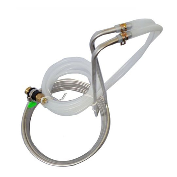 Stainless Steel Food Grade Cooling Coil Pipe Home Brew Immersion Wort Chiller
