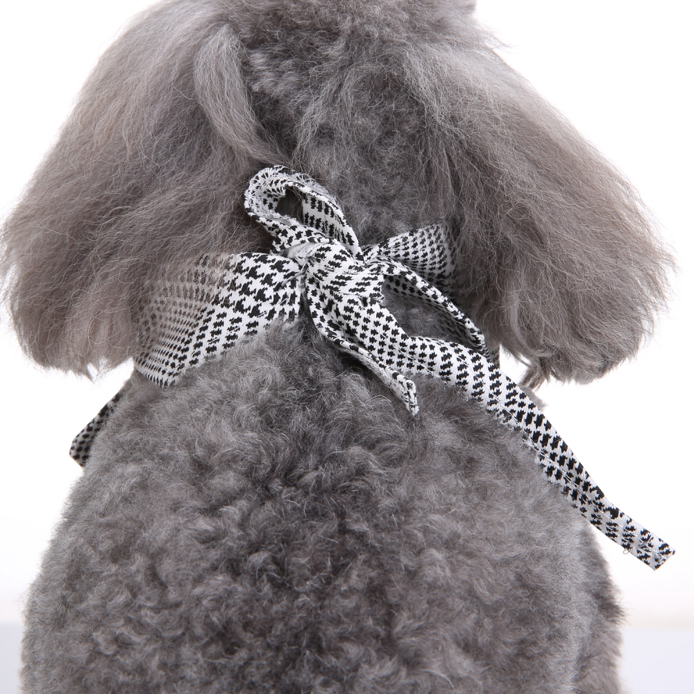 Wedding Tuxedo Large Dog Bandana Scarf Adjustable Cat Ties Neckerchief Pet Dress-up Clothes