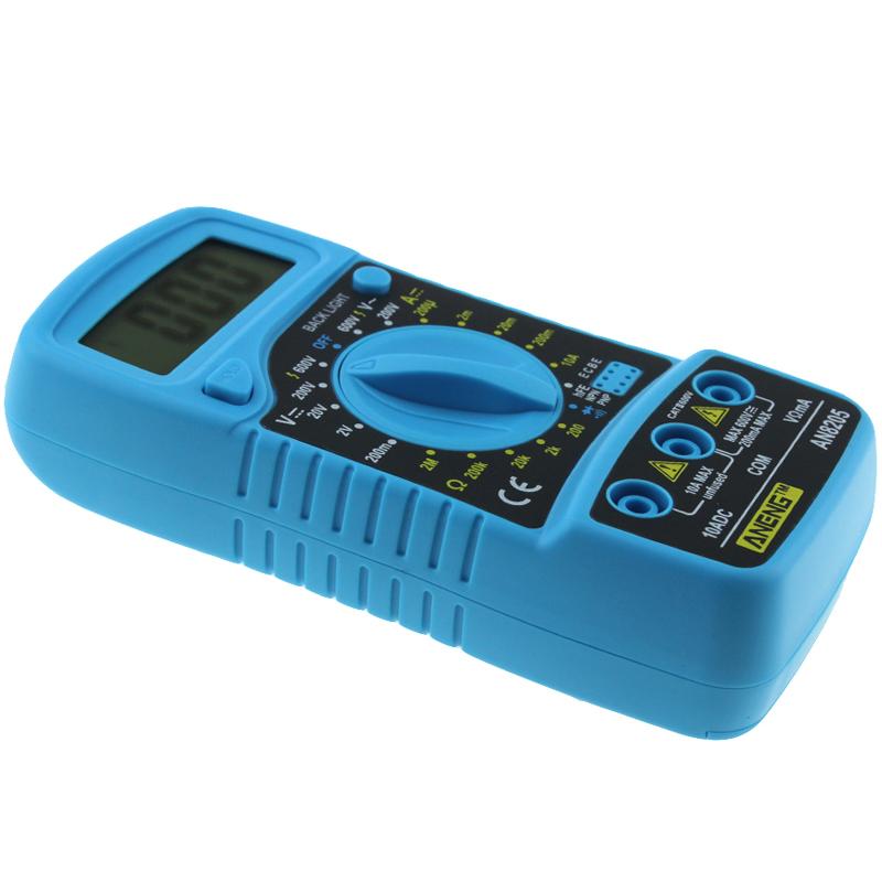 ANENG AN8205 Professional Digital Multimeter AC/DC Ammeter Voltmeter Ohm Tester