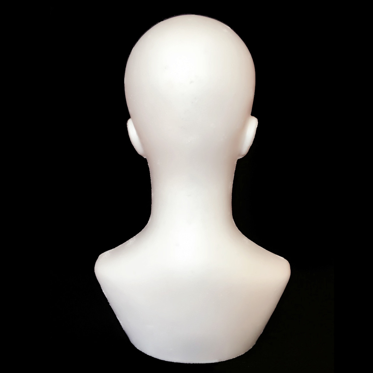 Male Polystyrene Foam Mannequin Stand Model Display Head