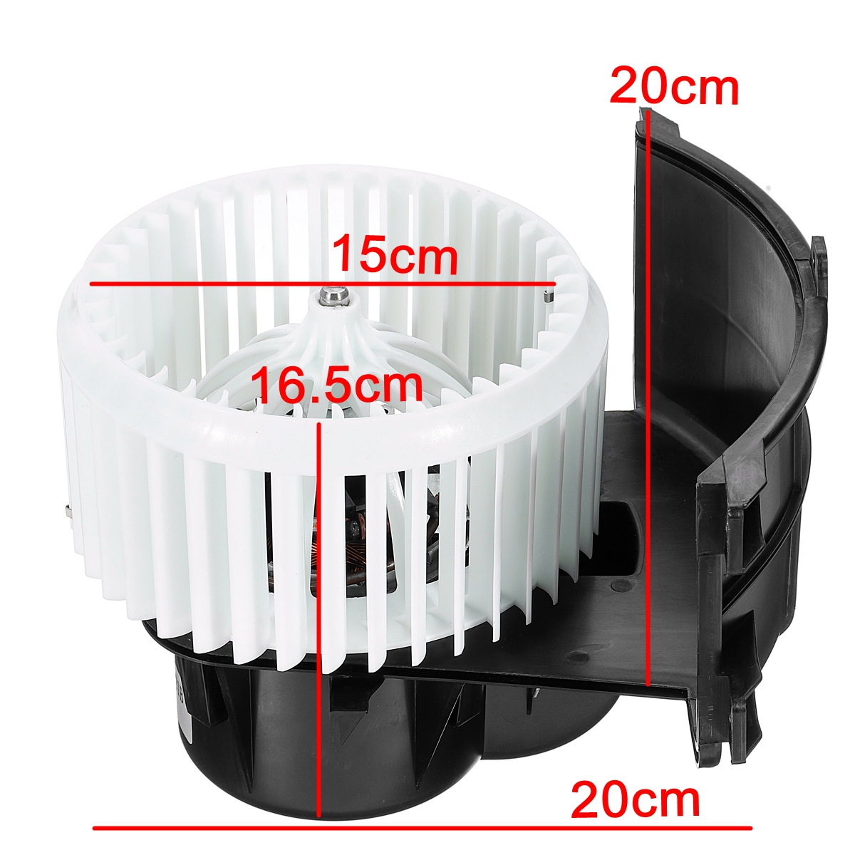 Car Front A/C Heater Blower Fan Motor RHD For VW Transporter T5 2003-2014 Right Hand Driver 7E0819021C 7H2819021A/B 7E2819021C Replacement