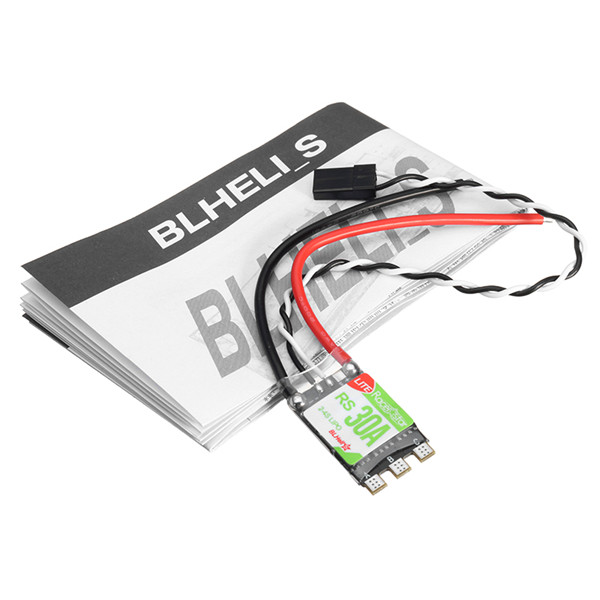 4 PCS Racerstar RS30A Lite 30A Blheli_S 16.5 BB1 2-4S Brushless ESC Support Dshot150 Dshot300 for RC Drone