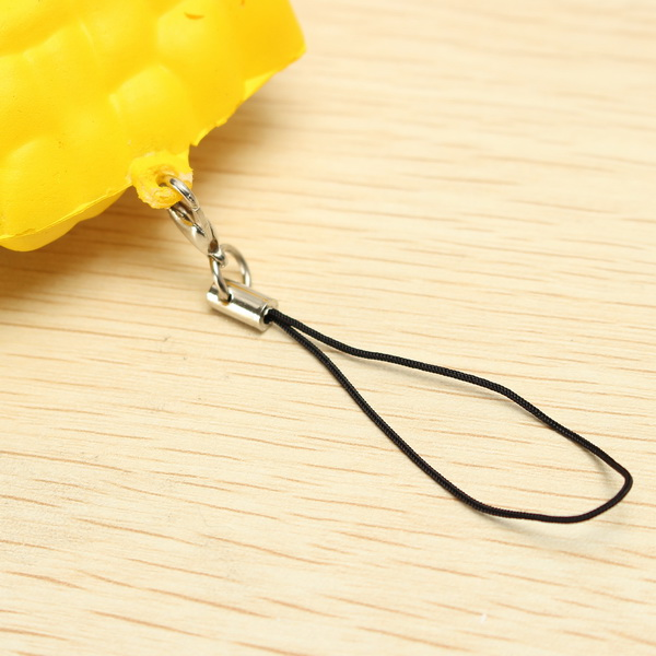 Squishy French Fries Patato Chips Scented Toy Phone Bag Strap Pendant Decor Gift